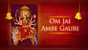 Om Jai Ambe Gauri - Female - Hindi Lyrics With Meaning