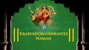 Om Krabyadobnibhrinyee Namah - Duet
