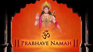 Om Prabhave Namah - Male