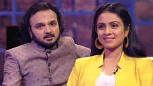 Parthiv Gohil and Manasi Parekh