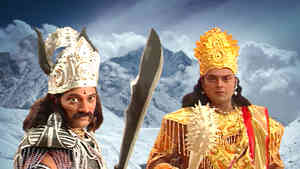Parvati Meets Shiva