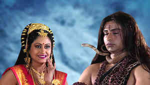Parvati Tries To Wake Shiva