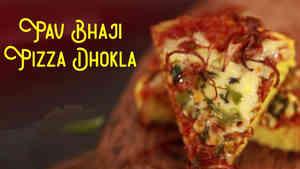 Pav Bhaji Pizza Dhokli