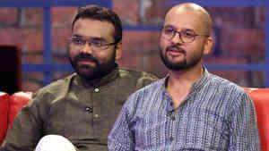 RJ Dhvanit and Smit Pandya