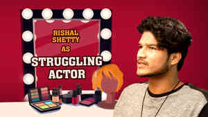 Rishal Shetty as Struggling Actor