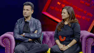 Rohit Roy and Mansi Joshi Roy