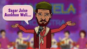 Sagar Jaise Aankhon Wali…