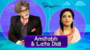 Sanket As Amitabh & Sugandha As Lata Didi - Part 2
