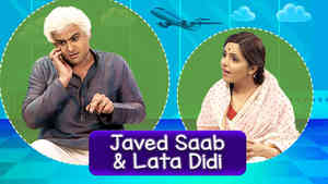 Sanket As Javed Saab & Sugandha As Lata Didi - Part 2