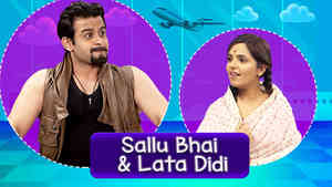 Sanket As Sallu Bhai & Sugandha As Lata Didi - Part 1