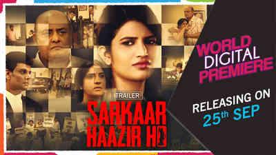 Sarkaar Haazir Ho - Promo