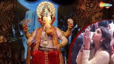 Shilpa Shetty Visit Lalbaugcha Raja 2018