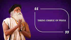 Taking Charge of Prana