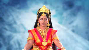 Tarakasur Tries to Disrupt Parvati's Meditation