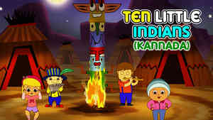 Ten Little Indians - March Style - Kannada