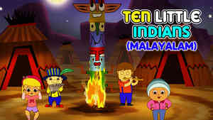 Ten Little Indians - March Style - Malayalam