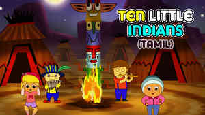 Ten Little Indians - March Style - Tamil