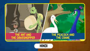 The Ant and The Grasshopper   The Peacock And The Crane