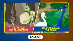 The Ant and The Grasshopper | The Peacock And The Crane