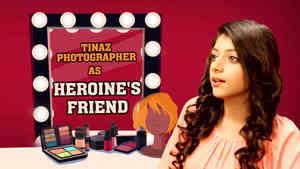 Tinaz Photographer as Heroine Ki Dost