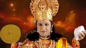 Tulsi Meets Lord Vishnu