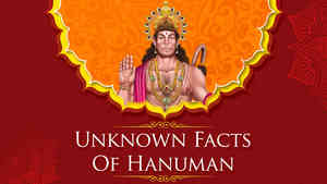 Unknown Facts Of Hanuman