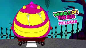 Wheels On The Bus - Halloween - Telugu